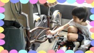 自転車磨き3
